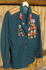USSR Russian Army Leutenant Parade Uniform Jacket + Trousers + Medals & Badges