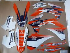 New KTM SX SXF XC XCF 125 250 300 450 13 14 15 Flu PTS3 Graphics Sticker Kit