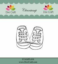 New Dixi Craft Clear Stamp Baby Shoes