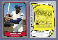 1988 Baseball Legends #36 Erinie Banks Chicago Cubs in Near Mint Condition