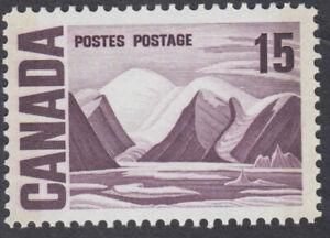 Canada- #463pii - 15c Centennial Issue Bylot Island, W2B Tagged, PVA Gum - MNH