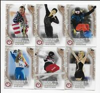 2018 Topps U.S. Olympic & Paralympic Team BRONZE Trading Card Set  (93 Cards)