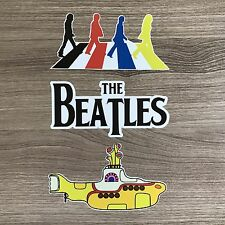The Beatles Vinyl Sticker Set - Free Shipping