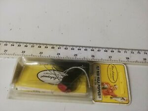 VERY RARE,VINTAGE FRED ARBOGAST-- FLY ROD HULLA POPPER-BASS, TROUT FISHING LURE