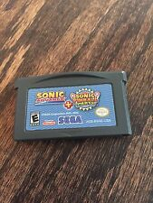 Sonic Advance + Sonic Pinball Party Combo Pack Nintendo Game Boy Advance GBA
