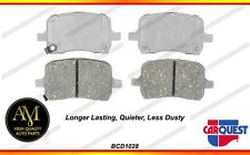 *Carquest BCD1028 Premiun Ceramic Brake Pads for CHEVROLET-PONTIAC-SATURN