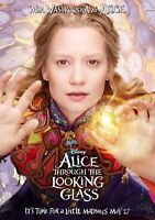 ALICE THROUGH THE LOOKING GLASS Movie PHOTO Print POSTER Film Mia Wasikowska 004