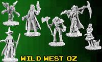 Reaper Miniatures - Bones 3 Kickstarter - Wild West Oz (6 Miniatures)