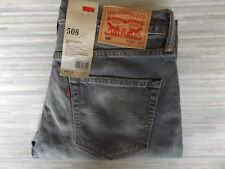 Men's Levi Strauss & Co. 508 Slim Tapered Fitting Grey Jeans W31 L32