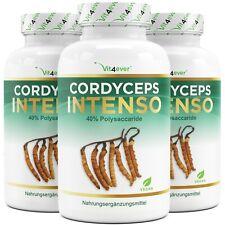 3x Cordyceps Intenso = 540 Kapseln á 650 mg 100% Cordyceps Sinensis Extrakt 10:1