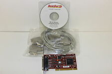 COMTROL 99205-9 ROCKETPORT 550 UPCI QUADCABLE RS232 WITH DB25M CABLE PCI  NEW