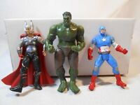 "Marvel Universe 3.75"" Avengers Figures GAMMA SMASH HULK, captain america thor"