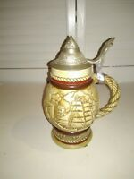 AVON Beer Stein TALL SHIPS Vintage 1977 Limited Edition - Handcrafted in Brazil