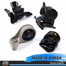OEM Engine Motor & Trans Mount Set 4PCS Fits 01-06 Hyundai Santa Fe 4WD 2.7L A/T