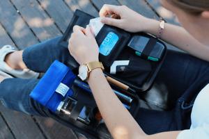 Glucology Diabetes Travel Case Plus   Portable Supply Bag Organizer   2 sizes