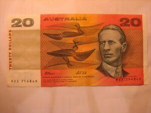 1991 Fraser/Cole $20 RVX series.