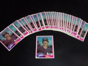 1981 Topps #250 lot of 40 RON GUIDRY cards! YANKEES!