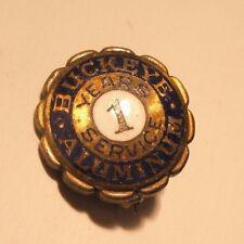 Buckeye Aluminum 1 Year Service Vintage Lapel Pin gift