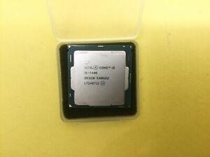SR32W Intel Core Processor i5-7400 3.0GHz Quad Core LGA 1151 CPU