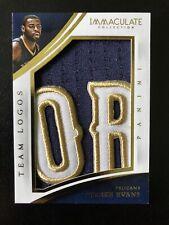 Tyreke Evans 2013-14 Immaculate Team Logos Jumbo Prime Patch 05/11 Pelicans