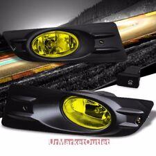 Yellow Len OE Front Bumper Fog Light Lamp+Bezel+Bulb+Switch For 06-07 Accord UC1
