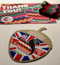 UK Unit 15 Psychedelic Squirrels World Scout Jamboree 2019 Limited Edition Badge