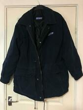 Fiat Blue Thick Winter Jacket Size Large Mens Long Sleeve (H364)
