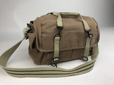 Domke F-7 Large Canvas Camera Shoulder Bag - Sand Color Excellent Condition