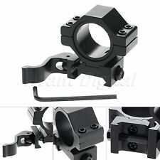 NY Low Profile 30mm/25.4mm Scope Ring QD Mount Adapter for 20mm Picatinny Rail