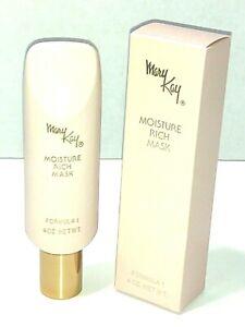 Mary Kay Formula 1 Moisture Rich Mask 4 oz Beauty Fragrance Free Cream vtg new