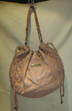 JUICY COUTURE LIGHT BROWN /  HANDBAG  LEATHER / LARGE /HOBO STYLE NEW $378 US