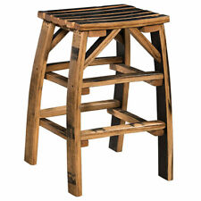 Barrel Stave Bar Stool Amish Made Reclaimed Barrel Wood! Free Shipping!