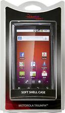 NEW RocketFish RF-MTVT2SP GRAY Silicone Cover Motorola Triumph Smart Phone Case