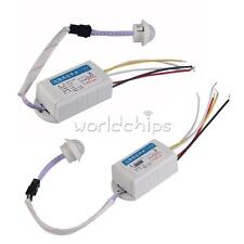 IR Infrared Body Motion Sensor Automatic Light Lamp Control Switch 110/220V New