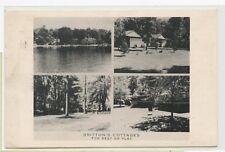VINTAGE 1955 POSTCARD ~ BRITTON'S RESORT ~ WAYLAND, MICHIGAN