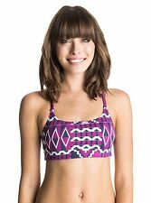 Roxy Fitness Women Dry Flight Tech Own It Sport Bra Top Sz Medium