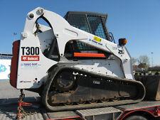 Bobcat T300 GOMMA TRACK Skid Steer MANUALE OFFICINA inviato come un download