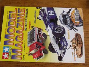 18$$ Revue Tamiya Model Magazine n°65 Repsol Honda RC211V T-55 Unimog RW1 / FW24