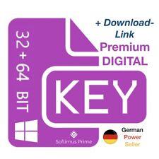 Windows 10 Professional Retail E-Mail Key Aktivierungsschlüssel 32 + 64 Bit