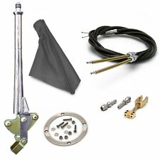 16 Trans Mnt Emergency Hand Brake  Grey Boot, Silver Ring and Cable Kit truck