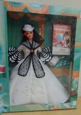 1994 HOLLYWOOD LEGENDS BARBIE AS SCARLETT O'HARA Black and White Dress, MIB