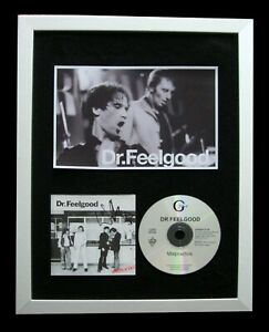 DR. FEELGOOD+WILKO+SIGNED+FRAMED+MALPRACTICE=100% AUTHENTIC+EXPRESS GLOBAL SHIP