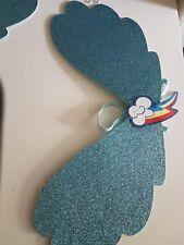 My Little Pony Glitter Wings    kids fancy dress fairy dance costumes xmas
