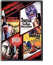 4 DRACULA FILMS STARRING CHRISTOPHER LEE TASTE THE BLOOD OF DRACULA+ DVD