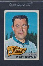 1965 Topps #518 Ken Rowe Orioles VG *436