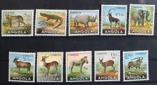 Angola 1953 Angolan Fauna Set MVLH XF Great Collection W1-92