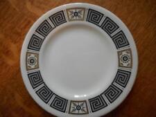 """Wedgwood Black Asia bone china 6"""" bread plate black mark R4288"""