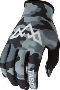 TASCO MTB Mountain Bike Gloves Camo Double Digits (Grey Camo, Medium)