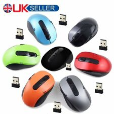 2.4GHz Wireless Cordless Mouse Optical Scroll For PC Laptop Computer & USB 2018