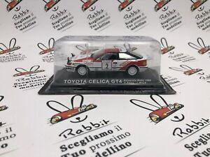 "Die Cast "" Toyota Celica GT4 Acropolis Rally 1990 C.Sainz "" Rally Goddess 1/43"